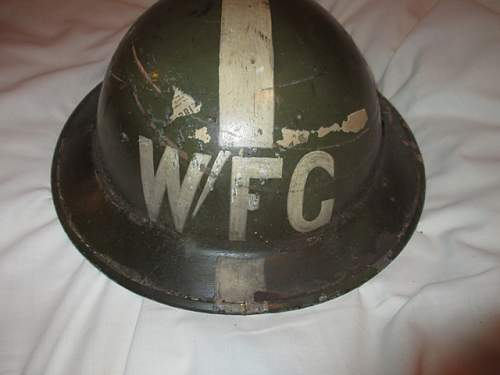W/FG Wardens Fire Guard Helmet