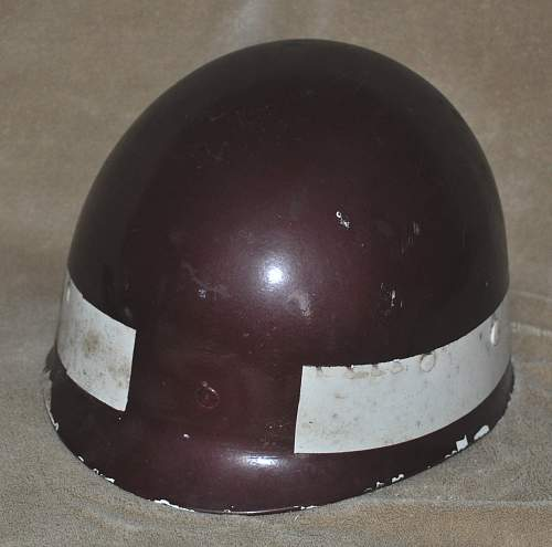Help Identifying a Vietnam Era Helmet Liner