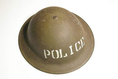 1941 Dated G.S.W. Mk II flashed with the letter P ( Auxiliary Police )