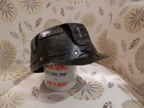 post war civil  helmet ?
