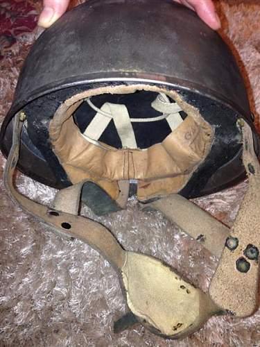 GS para helmet markings
