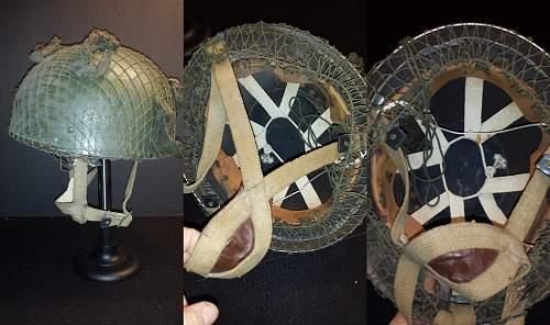 Que'sCollection -- 1944 British Paratrooper HelmeT