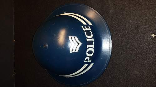 Ques Collection - British police