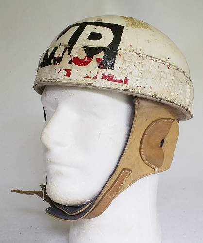 Click image for larger version.  Name:CDA Spalding DR helmet postwar MP front left.jpg Views:195 Size:207.1 KB ID:831210