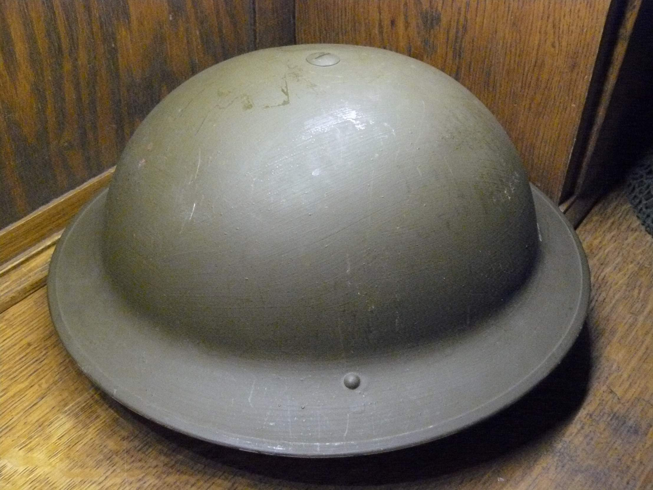 Brodie Helmets Marked 1942 and 1943 - Value?