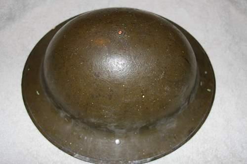 WW1 Brodie Helmet?