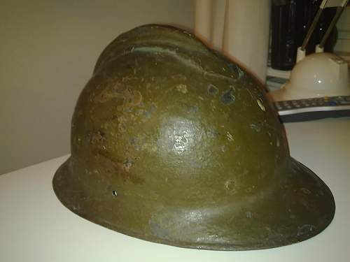 My french WW 1 helmet