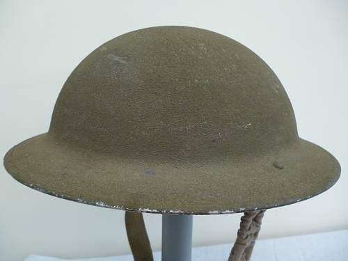 Nice mk2 textured Army Helmet.