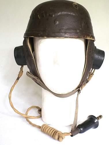 Click image for larger version.  Name:UK Helmet CrashGlider Pilots Regiment front.jpg Views:620 Size:212.5 KB ID:860566