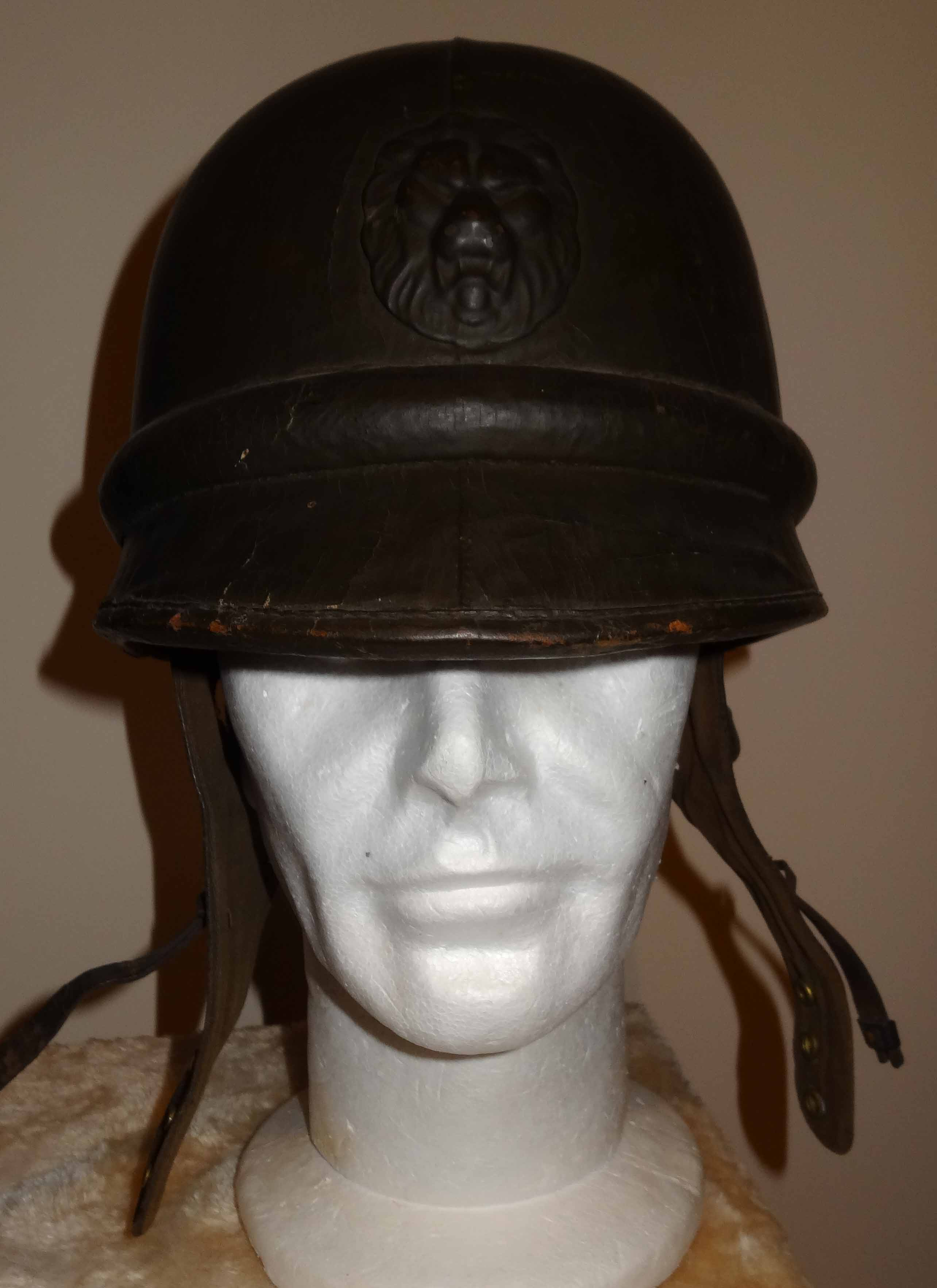 Belgian Army Dispatch Rider Motorcyclist Helmet Ww2