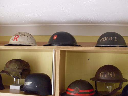 My growing wall 'o' MKII helmets (+ some others!)