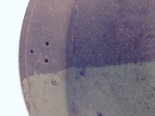 British Mark 2C helmet (home guard?)