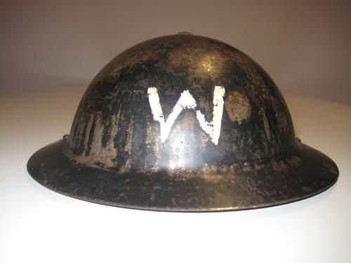 Early Mk2 Wardens Helmet.