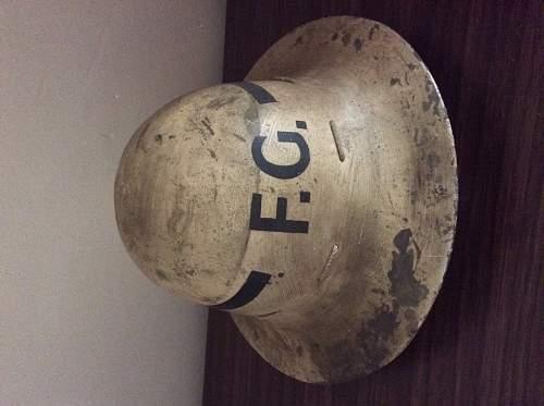 Senior Fire Guard zuckerman helmet