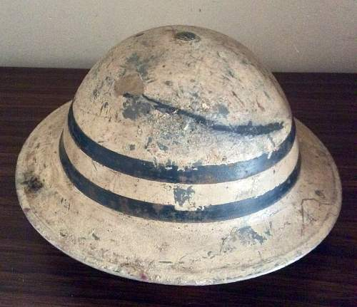 Mk II senior fire guard helmet