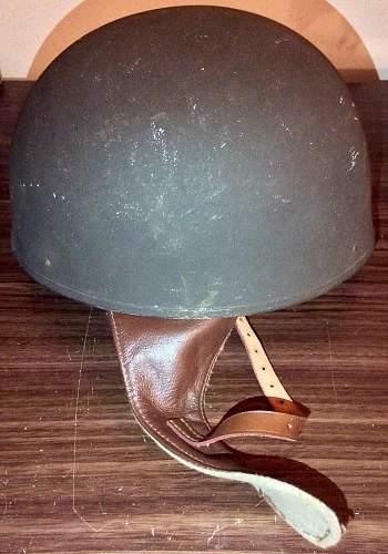 British army dispatch rider helmet