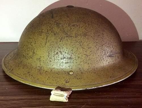 MkII helmet interesting paint camo