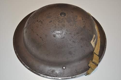 MkII British Army Helmet