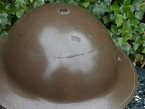 Very shiny high gloss MkII helmet