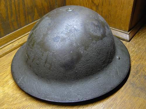 Australian Helmet WW2 (1942)