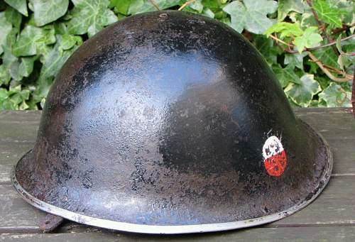 Mk III 1944 dated helmet.