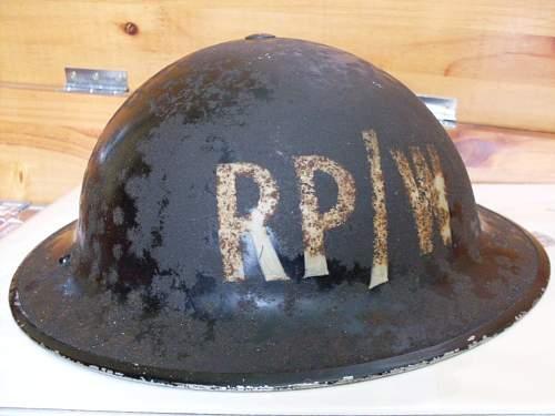 REPAIR PARTY WATER MKII Helmet.