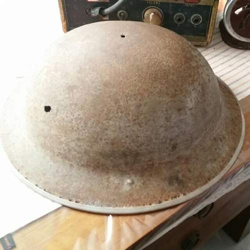 Is this a  british helmet?