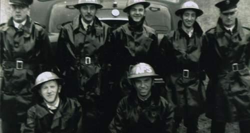 MKII (RED) AFS OFFICERS Helmet