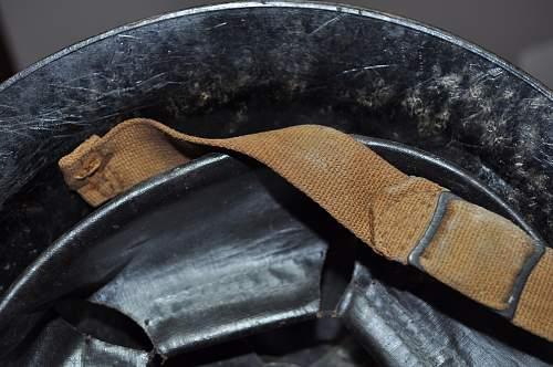 Bakelite Mk2 helmet