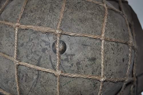 British Mk2 khaki/sand with rope net (1939)