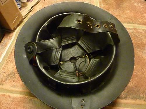 Civilian private purchase Fibre helmet.