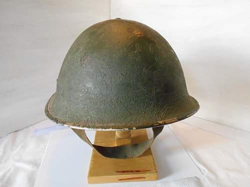 British Mk III turtle helmet