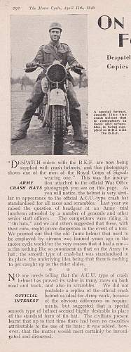 Click image for larger version.  Name:Despatch rider helmet article.jpg Views:64 Size:198.1 KB ID:904952