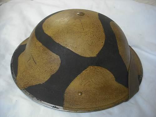 Another MK 2 Malta camo helmet on E-bay