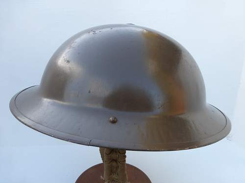 What is this fluted British helmet, FSS 40
