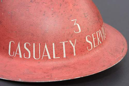 Casualty Service Helmet ~ Opinions Gratefully Received