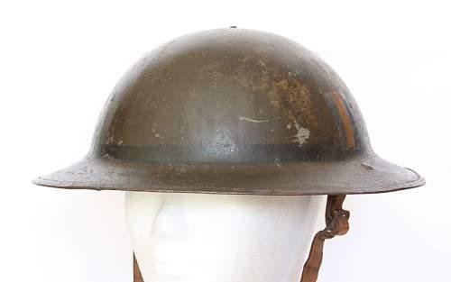 Need helping identifing WWI Helmet