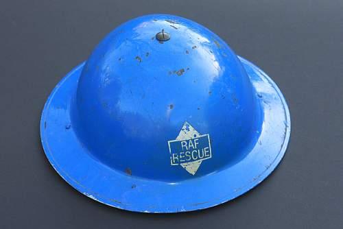 RAF Rescue Helmet for Evaluation