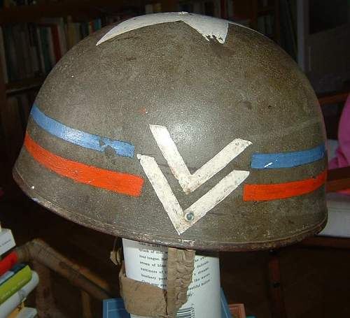 R.A.C. tanker's helmet