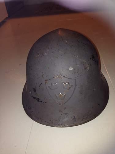 Swedish  M21-M18 Helmet
