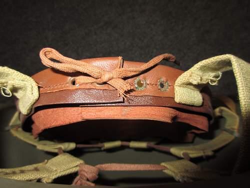 Possible ww2 us prototype helmet
