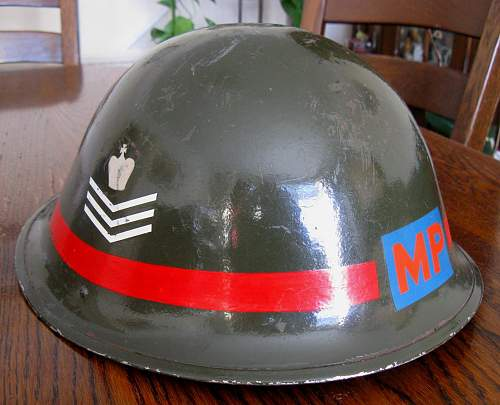 Mk IV MP helmet