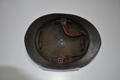 French M26 helmet