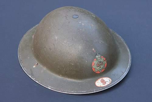 British NFS 9 (Leicester) Helmet Collection