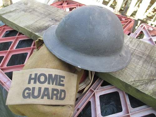 Home Guard Issue Helmet ?