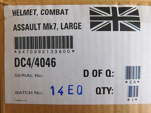 British Mk7 as first issued