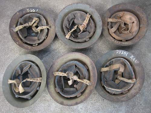 6 Aussie Helmets Found in Barn