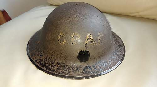 Castle Bromwich Aircraft Factory MKII Helmet