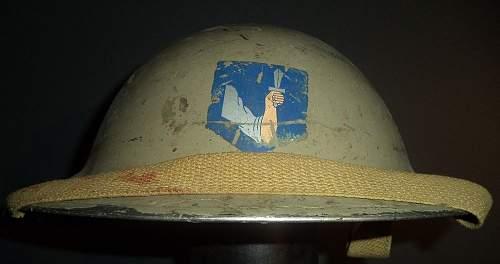 Interesting helmet