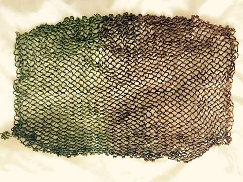 Canadian helmet net